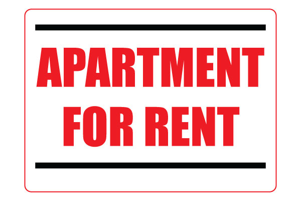 Printable Apartment For Rent Signs