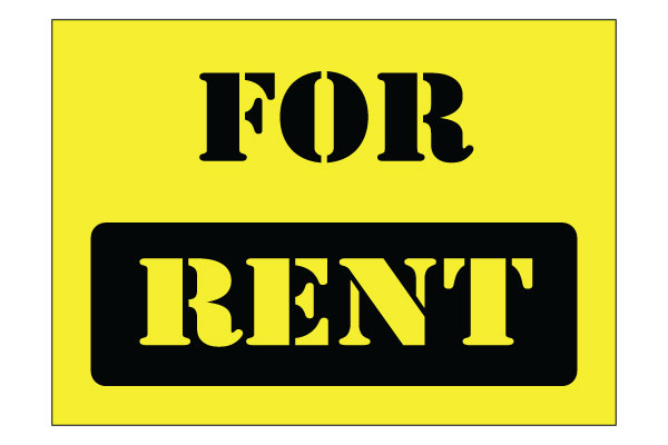 Printable For Rent Sign