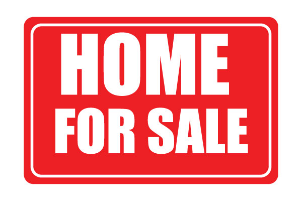 Printable Home For Sale Sign Red