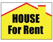 Printable House For Rent Sign