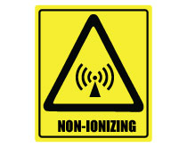 Printable Non-Ionizing Sign