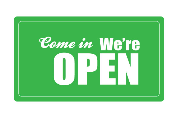 Printable Open Sign