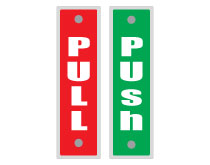 Printable Push and Pull Signs