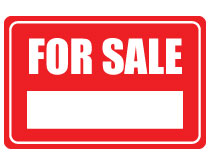 Printable For Sale Sign – Red