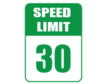 Printable Speed Limit 30 Sign