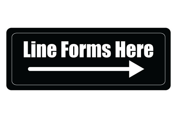 line-forms-here